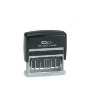 Colop Printer S 160 DD - Dater, две даты. Цвет корпуса: черный