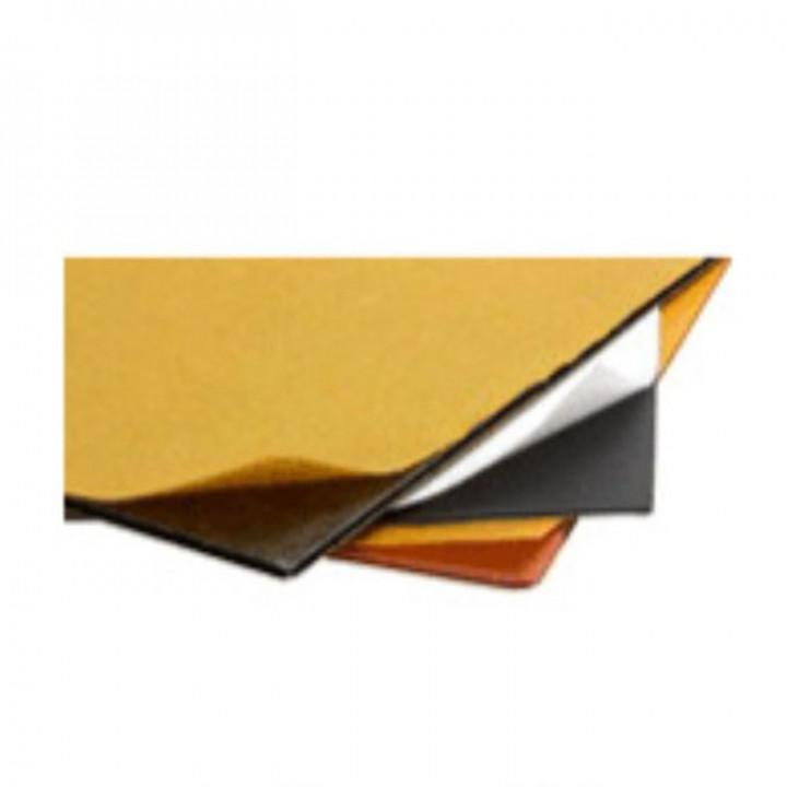 Демпфер ПТ листовой, толщина 1 мм. Цвет белый