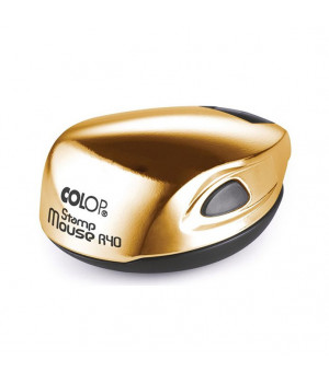 Colop Stamp Mouse R40 GOLD. Цвет корпуса: Gold
