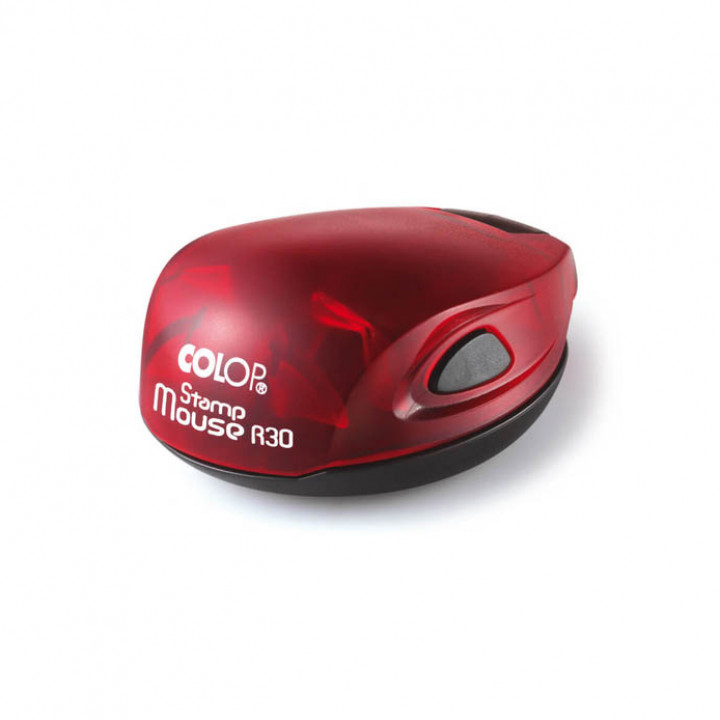 Colop Stamp Mouse R30. Цвет корпуса: рубин