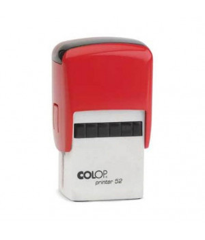 Colop Printer 52. Цвет корпуса: красный