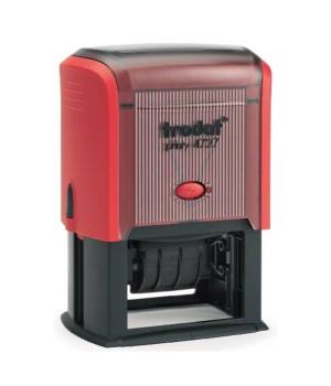 Trodat Printy 4727 РУС. Цвет корпуса: красный