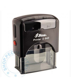 Shiny Printer S-843 Standart / Transparent черный