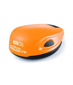 Colop Stamp Mouse R40. Цвет корпуса: оранжевый неон