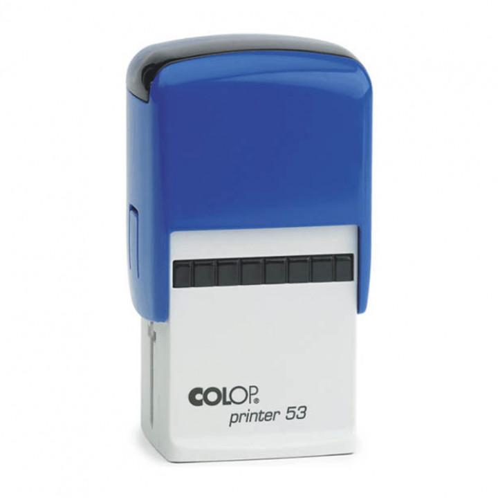 Colop Printer 53. Цвет корпуса: синий