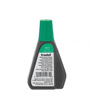 Trodat 7011, 28 мл. Цвет краски: зеленый