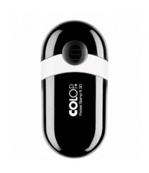 Colop Pocket Stamp R30. Цвет корпуса: ***Черный