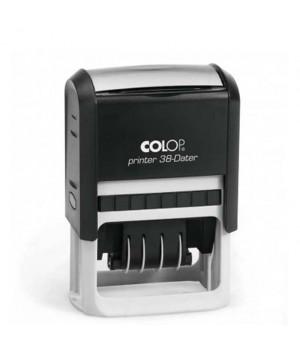 Colop Printer 38-Dater РУС. Цвет корпуса: черный