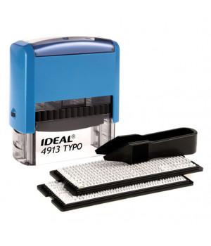 Ideal 4913/DB TYPO РУС, ЛАТ. Цвет корпуса: синий