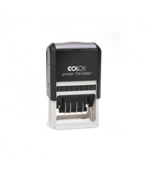 Colop Printer 54 - Dater. Цвет корпуса: черный
