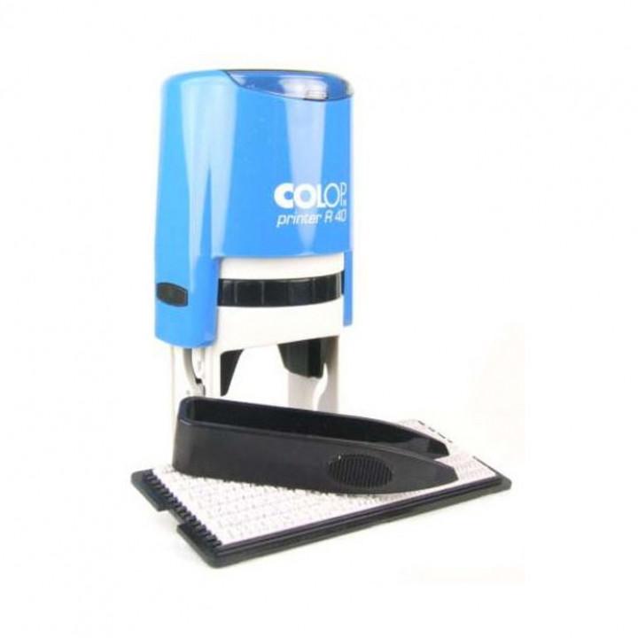 Colop Printer R40/1 Set РУС. Цвет корпуса: синий