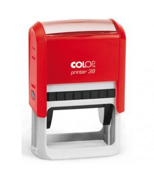 Colop Printer 38. Цвет корпуса: красный