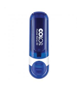 Colop Pocket Stamp 20. Цвет корпуса: индиго