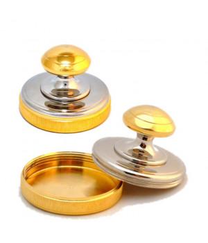 Металлическая блестящая (никель-золото) D40 (РБ)