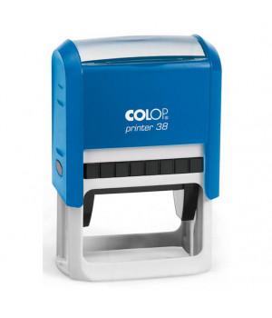 Colop Printer 38. Цвет корпуса: синий