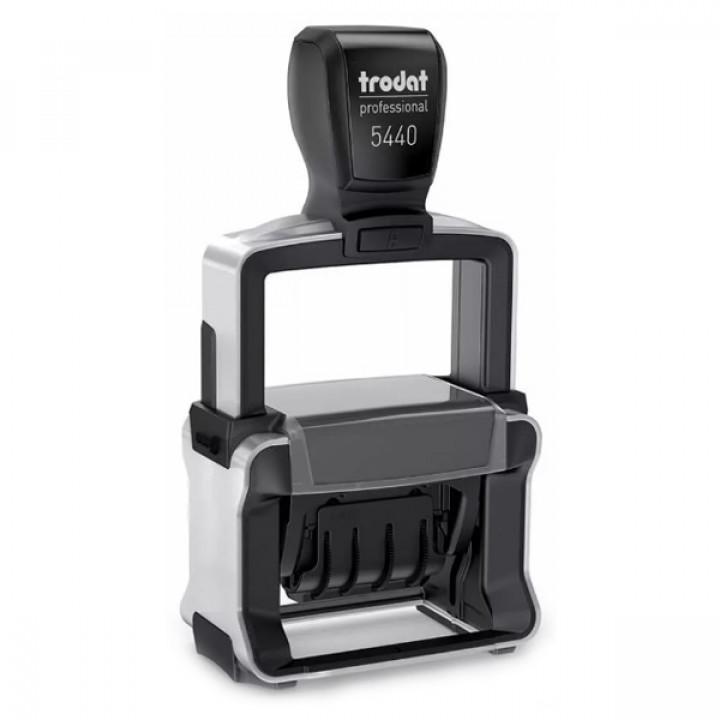 Trodat Professional Line 5440 4.0 РУС. Цвет корпуса: черный с серебром