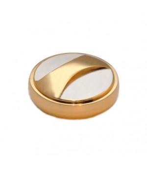 Блестящая карманная D40 никель-золото (РБ).