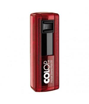 Colop Pocket Stamp Plus 20. Цвет корпуса: рубин