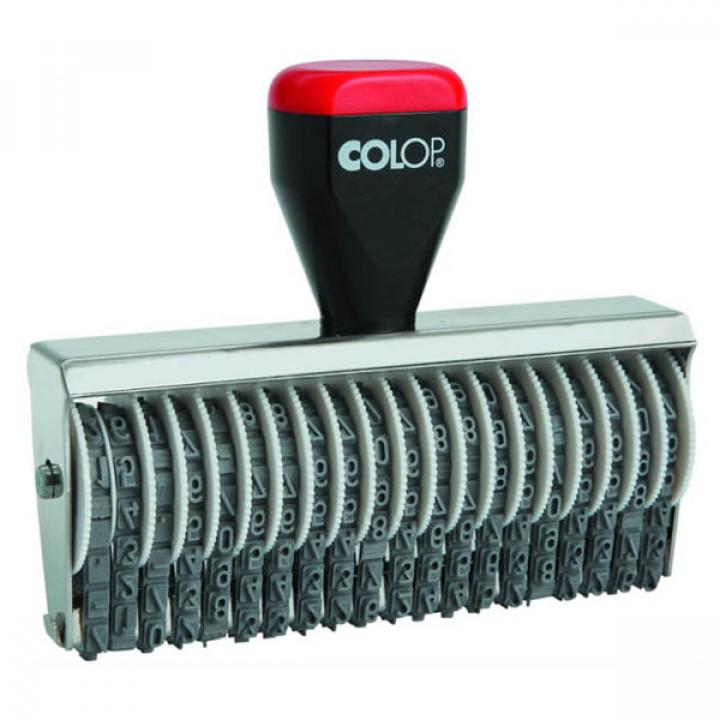 Colop Classic Line 04020. Цвет корпуса: черный с серебром