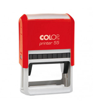 Colop Printer 55. Цвет корпуса: красный