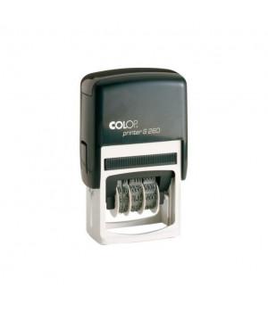Colop Printer S260 - Dater РУС. Цвет корпуса: черный
