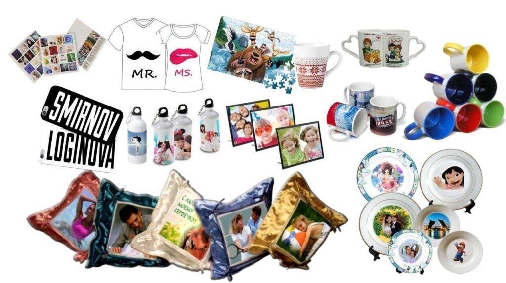 собрали фотосувениры и фото подарки применяется для
